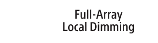 Logotip Full Array Local Dimming