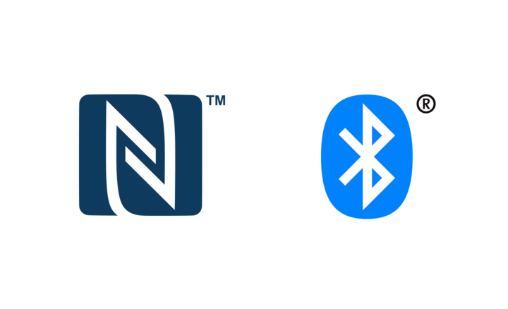 Logotip za NFC i BLUETOOTH®