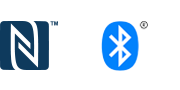 Logotipi Bluetooth® i NFC