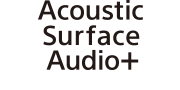 Logotip Acoustic Surface Audio+