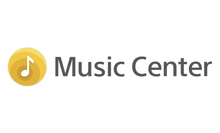 Logotip aplikacije Sony | Music Center