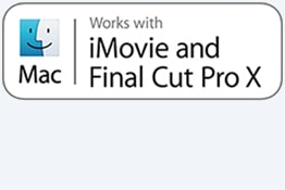 Podržava iMovie i Final Cut Pro X